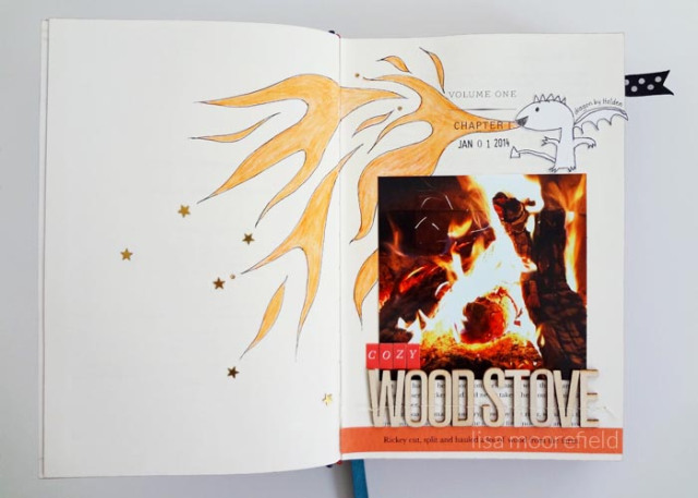 Tutorial - Alter a book for Scrapbooking 2 by Lisa Moorefield
