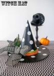 Tutorial   Halloween Polka Dot Witch's Hat