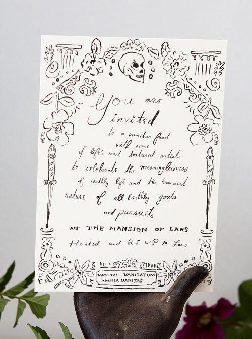 Freebie - Printable Halloween Party Invitation