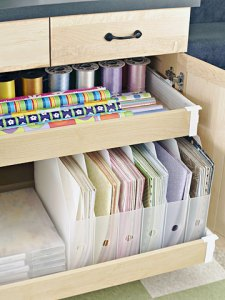 Ultimate Scrapbooking Room at BHG - Paper
