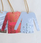 Freebie | DIY Christmas Sweater Gift Tags