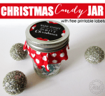 Freebie | Christmas Candy Jar Label