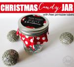 Freebie | Christmas Candy Jar Label