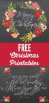 Freebie | Printable Christmas Posters