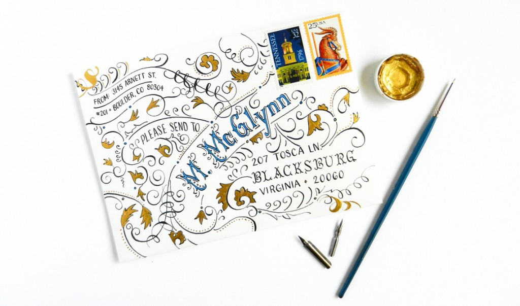Tutorial - typography_envelope