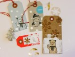 Tutorial | Wintery Gift Tags