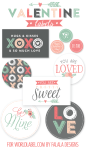Freebie | Printable Valentine Labels