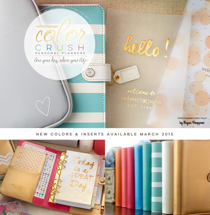 Webster's Pages Color Crush Planners