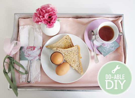 5 lovely loving ideas for mother s day scrap booking for Mother s day breakfast in bed ideas