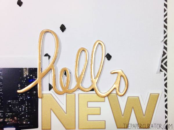 Tutorial - How to Embroider a Scrapbook Background - The Paper Curator