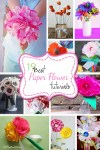 19 Paper Flower Tutorials for Mother's Day
