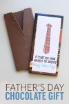 Father's Day Chocolate Gift Idea – Suit & Tie Chocolate