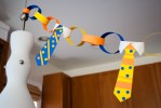 Freebie & Tutorial | DIY Tie Father's Day Decorations