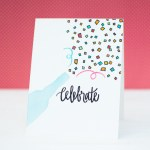 Video Tutorial | Stamped Celebration Card