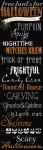 Freebie |15 More Halloween Fonts