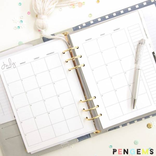 12 Printable Planners for 2016 – Scrap Booking