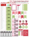 Free Planner Stickers for Winter