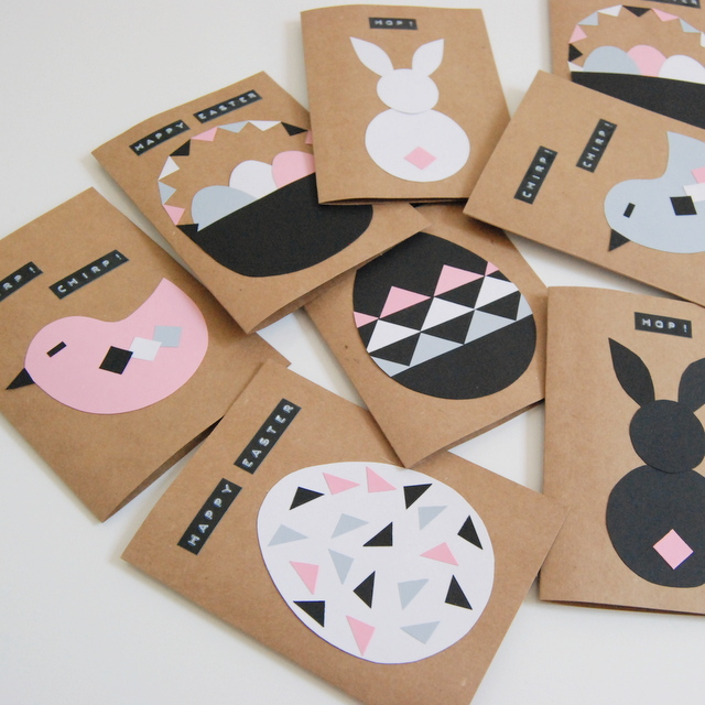 Diy easter cards or scrapbook page embellishments scrap booking