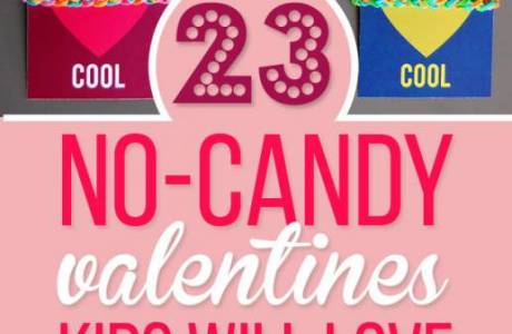 23 No-Candy Valentines for Kids