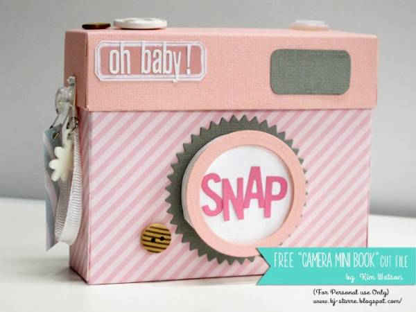 Make your own valentine with vintage paper vintage inspired - Four Ways To Make A Mini Album That Looks Like A Camera