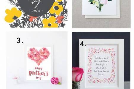 6 Free Mother's Day Printables