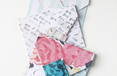 DIY | How to Make Origami Envelopes