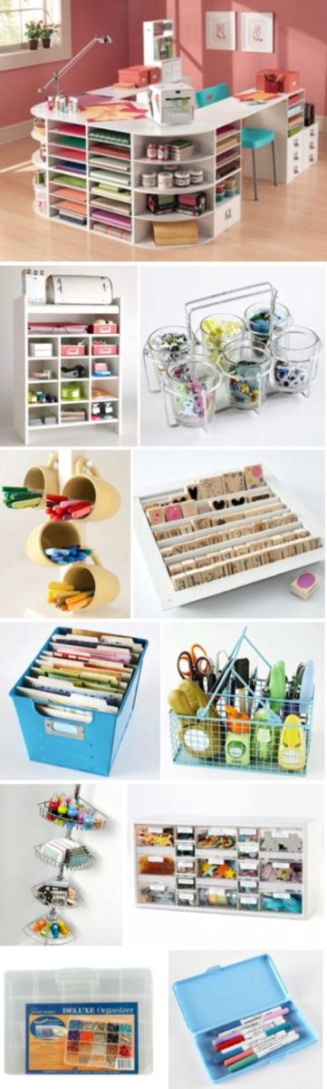10 Craft Storage Ideas On A Budget Scrap Booking