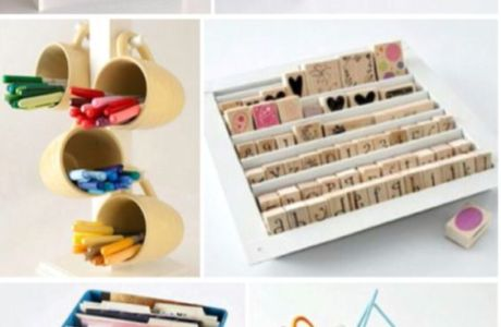 10 Craft Storage Ideas on a Budget