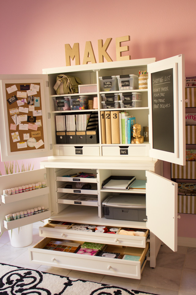How To Create An Organized Craft Room Scrap Booking