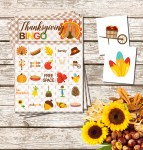Free Printable Thanksgiving Bingo Game