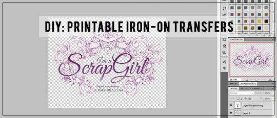 avery light fabric transfer template