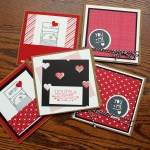 Paper bag Valentine's Day cards by Scrappy Bags