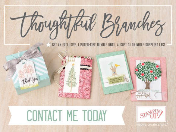 Thoughtful Branches - Scrappy Bags