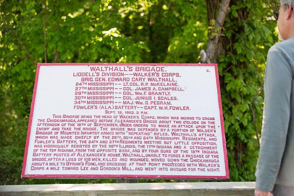 Walthall's Brigade Chickamauga Battlefield