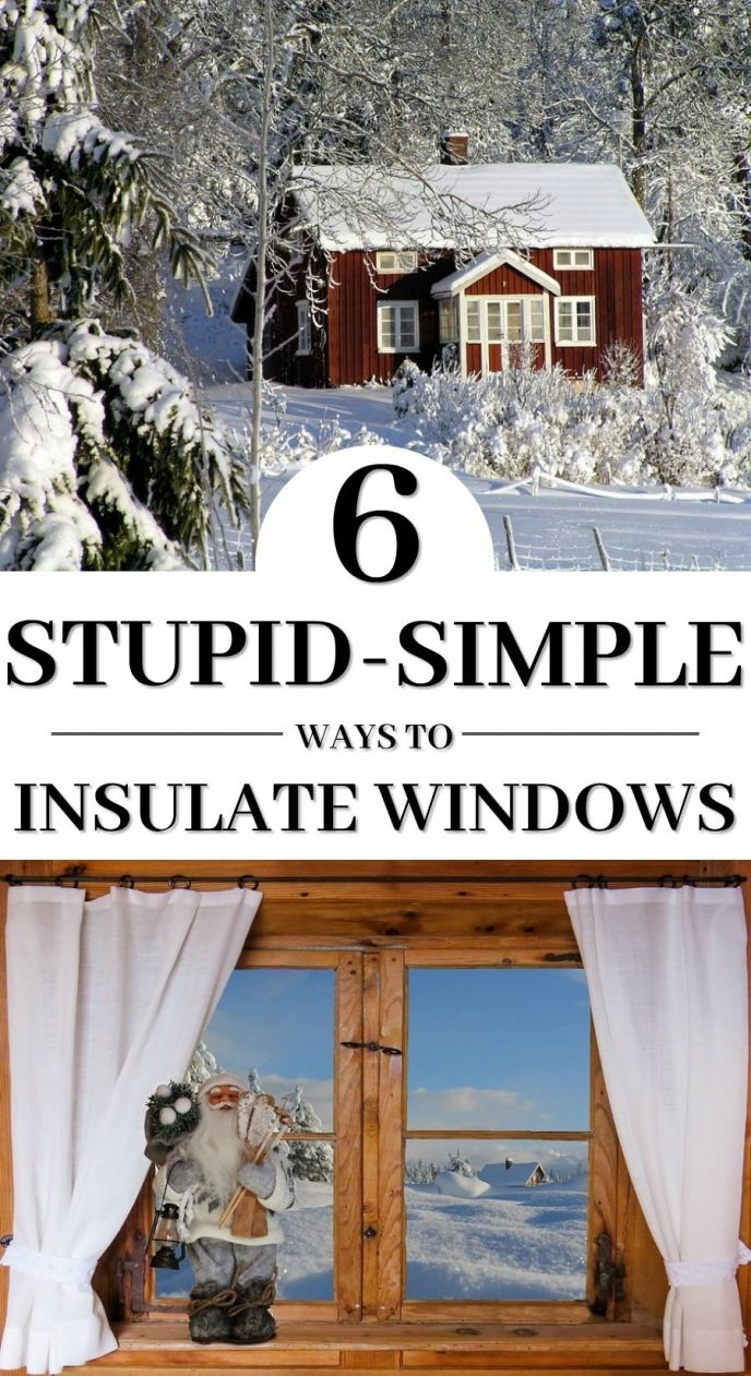 How To Insulate Windows 6 Stupid Simple Ways To Insulate Your Windows Scrappy Geek