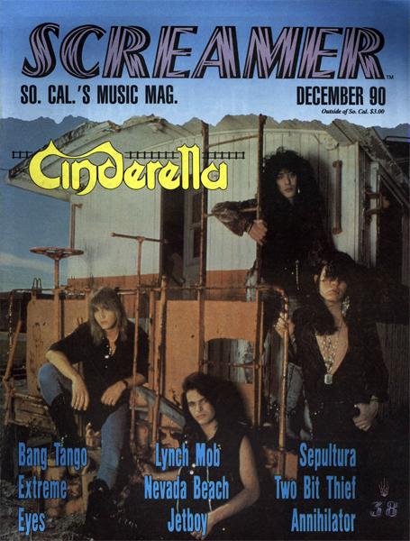 Screamer Magazine December 1990