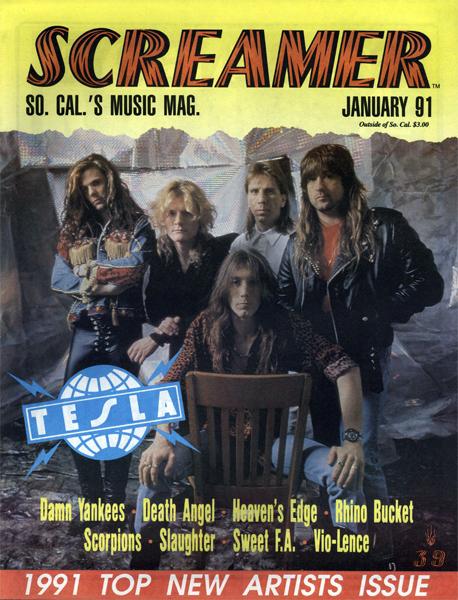 Screamer Magazine January 1991