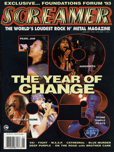 Screamer Magazine January 1994
