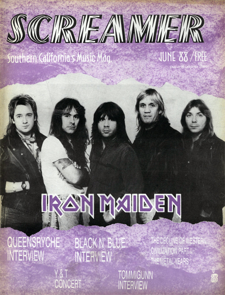 Screamer Magazine June 1988