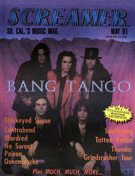Screamer Magazine May 1991
