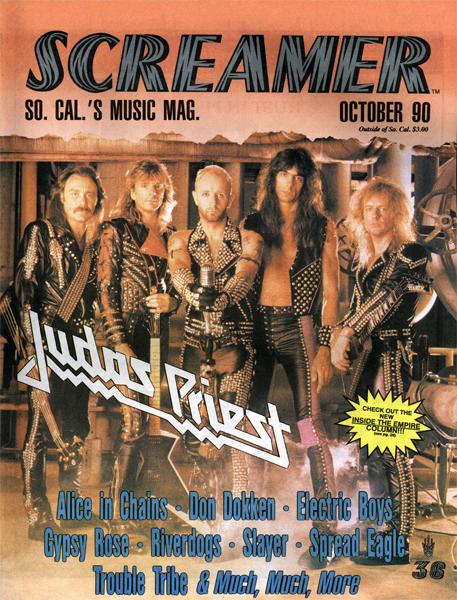 Screamer Magazine October 1990