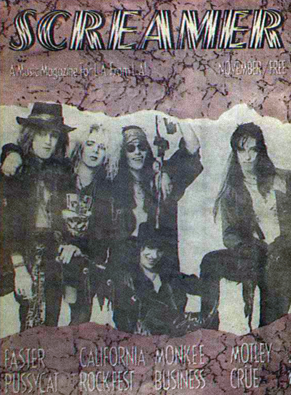 Screamer Magazine November 1987