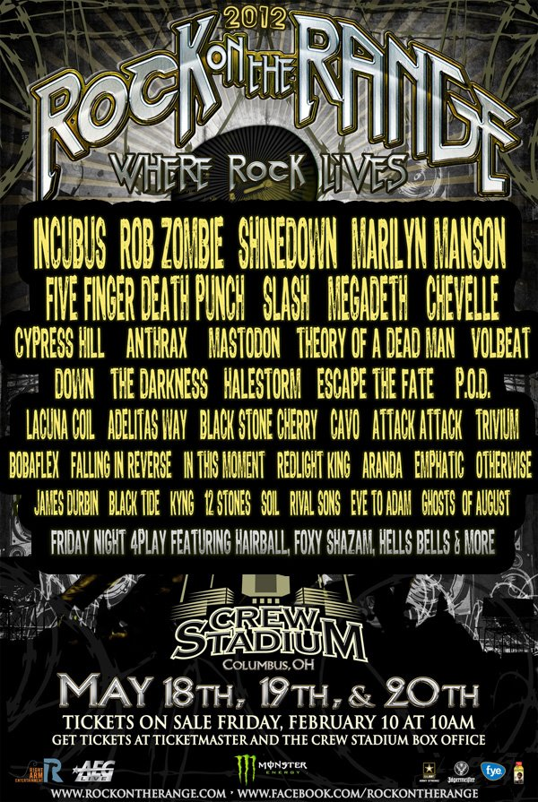 Falling In Reverse Wallpaper 2015 Rock On The Range Performance Times Announced Screamer