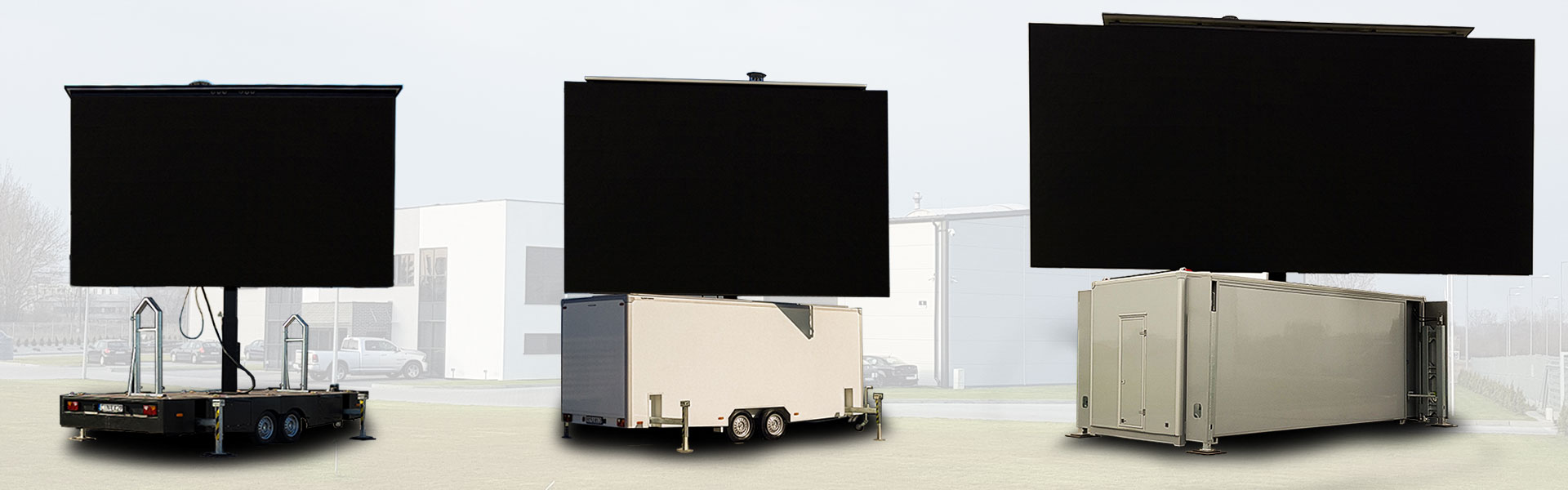 Outdoor Anhänger Mobile Led Screens Manufacturer Trailers For Sale Screen Led