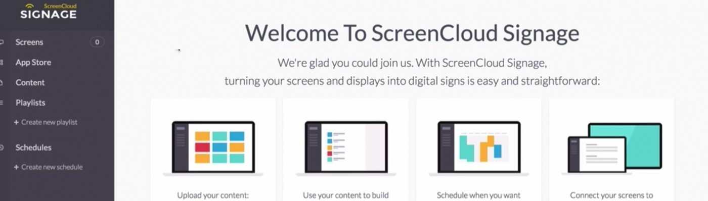 Making Digital Signage Management as Easy as Possible - ScreenCloud