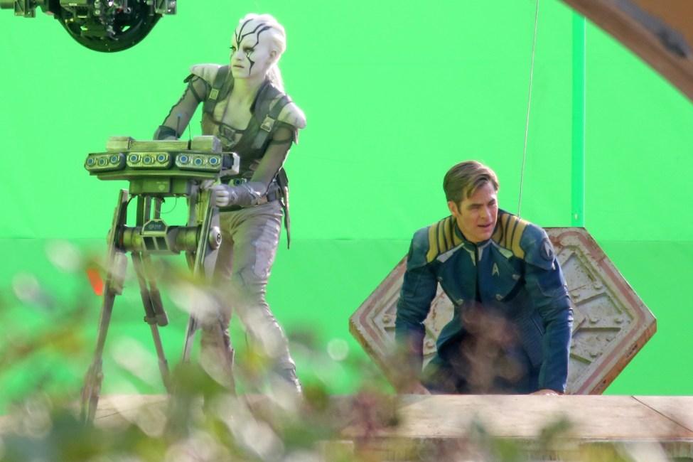 Star Trek Beyond Set Photo