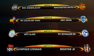 Manchester United To Play Anderlecht Full Europa League Quarter