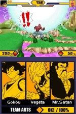 Dragon Ball Z Supersonic Warriors DS