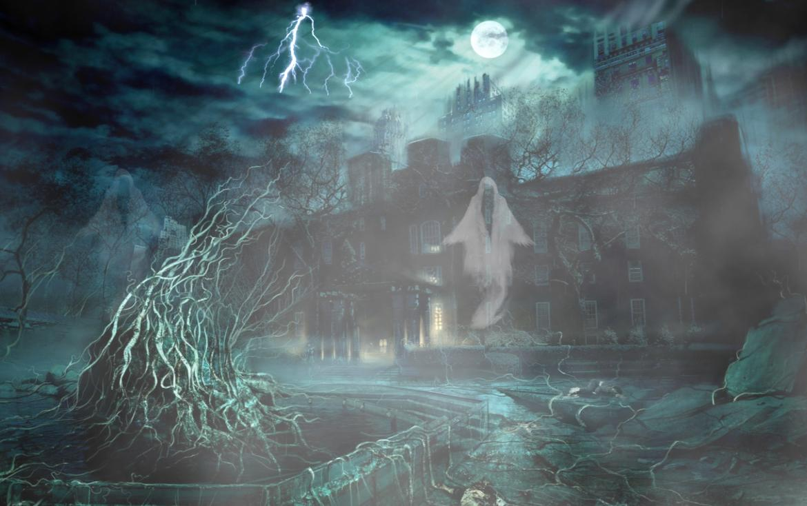 Best Hd Screensavers Download House Of Terror Scary Ghost House Screensaver