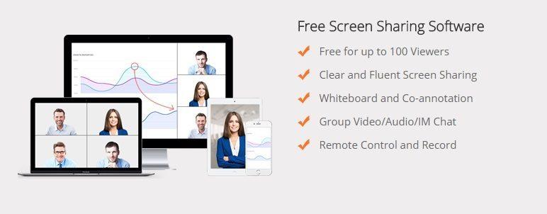 Share Phone Screen \u2013 screen sharing software